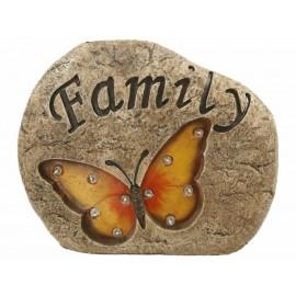 Hong Fa Figura Decorativa Piedra Yilinki Family - Envío Gratuito
