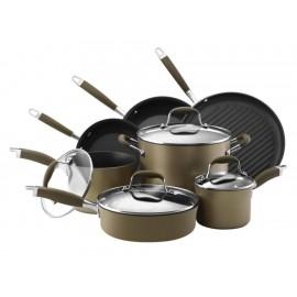 Batería de Cocina Anolon Advanced Bronce - Envío Gratuito