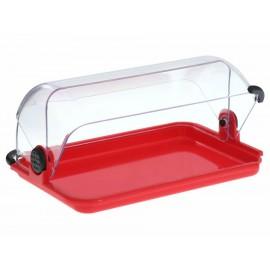 Interplus Panera de Plastico Roja - Envío Gratuito