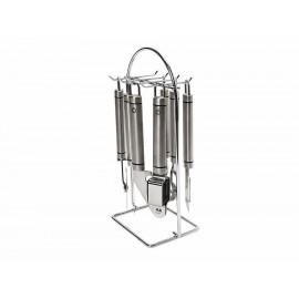 Metaltex Juego de Gadgets para Cocina con Soporte 7 Piezas - Envío Gratuito