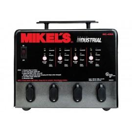 Banco cargador de baterías Mikel s BCB 4 negro - Envío Gratuito