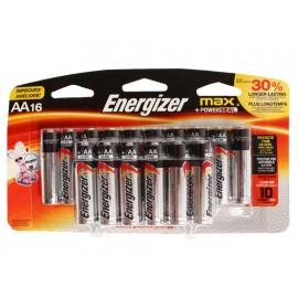 Energizer Paquete de 16 Pilas AA - Envío Gratuito