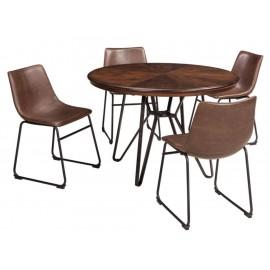 Set de sillas Ashley café - Envío Gratuito