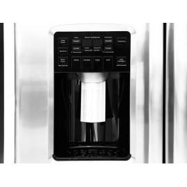GE Profile PSMS6PGGCSS Refrigerador 26 Pies Cúbicos Gris Acero - Envío Gratuito