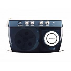 Lavadora LG 16 kg gris claro WP-1960R - Envío Gratuito