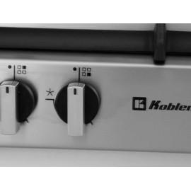 Parrila Koblenx 4 quemadores acero PKGL-60 - Envío Gratuito