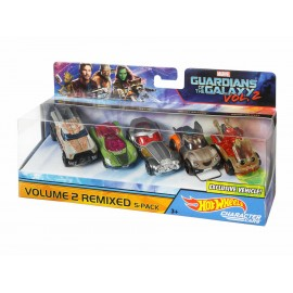 Set de coches Hot Wheels Guardians of the Galaxy - Envío Gratuito