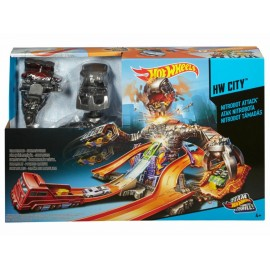 Pista Hot Wheels Megarrobot Destructor - Envío Gratuito