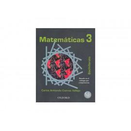 Matemáticas 3 Bachillerato Con Cd - Envío Gratuito