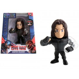 Metals Die Cast Marvel Figura Winter Soldier - Envío Gratuito
