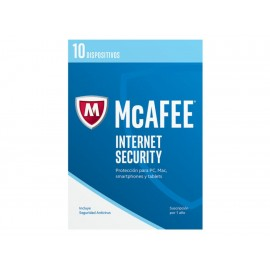 Antivirus McAfee Internet Security 2017 - Envío Gratuito