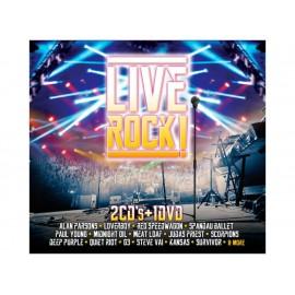 Live Rock 2 CDS + 1 DVD - Envío Gratuito