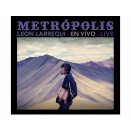 León Larregui Metrópolis en Vivo CD DVD - Envío Gratuito