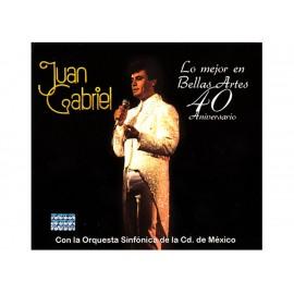 Sony Music Juan Gabriel Lo Mejor en Bellas Artes 40 Años CD DVD - Envío Gratuito