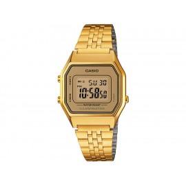 Casio Classic LA680WGA-9VT Reloj Unisex Color Dorado - Envío Gratuito