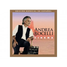 Andrea Bocelli Cinema Special Edition CD+DVD - Envío Gratuito