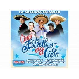 La Absoluta Colección Cinco Estrellas 3CDS+DVD - Envío Gratuito