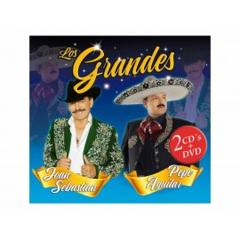 Los Grandes Pepe Aguilar y Joan Sebastian 2 CDS + DVD - Envío Gratuito