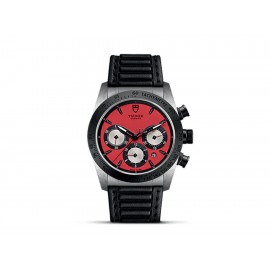 Tudor Fastrider Chrono M42010N-0006 Reloj para Caballero Color Negro - Envío Gratuito
