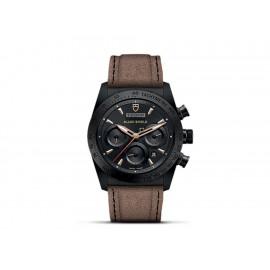 Tudor Fastrider Black Shield M42000CN-0016 Reloj para Caballero Color Café - Envío Gratuito