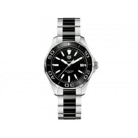 Tag Heuer Aquaracer WAY131A.BA0913 Reloj para Dama Color Acero/Negro - Envío Gratuito