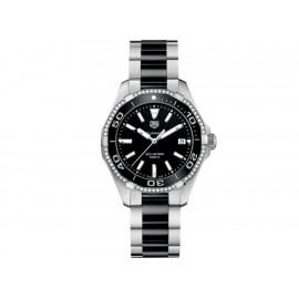 Tag Heuer Aquaracer WAY131G.BA0913 Reloj para Dama Color Acero/Negro - Envío Gratuito