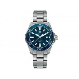 Tag Heuer Aquaracer WAY111C.BA0928 Reloj para Caballero Color Acero - Envío Gratuito
