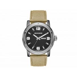Reloj para caballero Skechers Neutral Canvas Strap SR5088 sand stone - Envío Gratuito