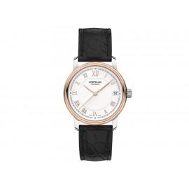 Montblanc Tradition 114368 Reloj para Dama Color Negro - Envío Gratuito