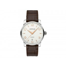 Reloj para caballero Montblanc Timewalker 110340 café - Envío Gratuito