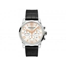 Reloj para caballero Montblanc Timewalker 101549 negro - Envío Gratuito