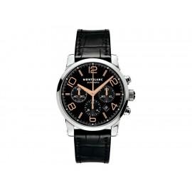 Reloj para caballero Montblanc Timewalker 101548 negro - Envío Gratuito