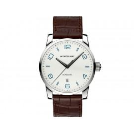 Reloj para caballero Montblanc Timewalker 110338 café - Envío Gratuito