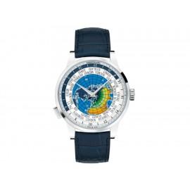 Reloj para caballero Montblanc Heritage Spirit Orbis Terrarum LATIN UNICEF 116533 azul - Envío Gratuito