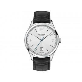 Reloj unisex Montblanc Heritage Chronométrie Automatic 112533 negro - Envío Gratuito