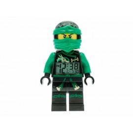 Lego Ninjago Sky Pirates Lloyd 9009402 Reloj Despertador Unisex Color Verde - Envío Gratuito
