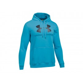 Sudadera Under Armour Rival Fleece Fitted Graphic Hoodie para caballero - Envío Gratuito