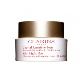 Crema de Día Clarins Capital Lumiere de 50 ml - Envío Gratuito