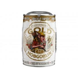 Cerveza Importada Hobgoblin Gold Clara 5 litros - Envío Gratuito
