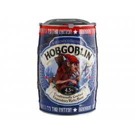Cerveza Importada Hobgoblin Ambar 5 litros - Envío Gratuito