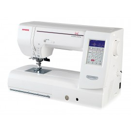 Janome Horizon MC8200QC Máquina de Coser y Bordadora Blanco - Envío Gratuito